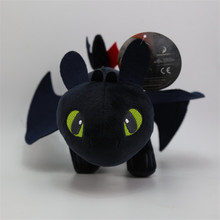 13''33cm America Movie How To Train Your Dragon2 Plush Toys Cartoon Toothless Night Fury Plush Stuffed Doll Toy Children's Gifts(China)