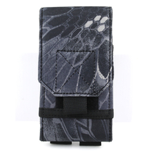 Tactical shock cell phone pocket molle communicator mounts for variety of brand mobile phones