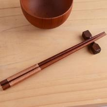 New Arrival High Quality Tableware Japanese Green Natural Wood Eco-friendly Anti-skid Wrapped Line Retro Chopsticks Set(China)