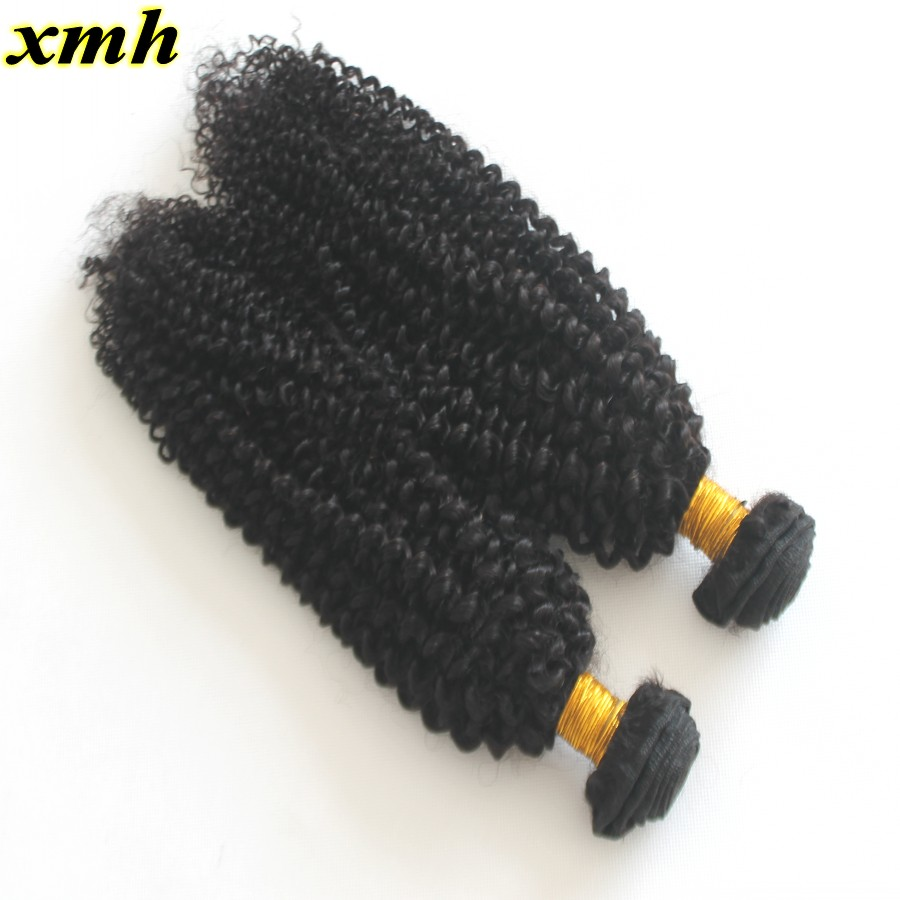 Kinky Curly 8A Brazilian Virgin Human Hair Weave 100g Bundle 2Pcs Lot Full Head Hotsale Brazilian Human Hair Extension In Stock<br><br>Aliexpress