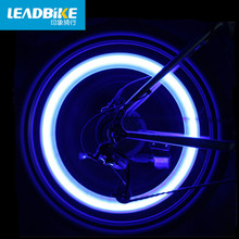 Leadbike Bicycle Valve Cap Light LED Tire Wheel Lights Gas Lamp Light Bike Accessories Red Blue Green Night Riding Decoration(China)