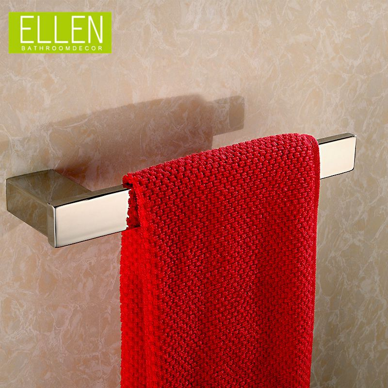 Bathroom stainless steel towel holder in the bathroom square polish towel rack bathroom accessories<br><br>Aliexpress