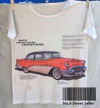 Track Ship + New Vintage Retro Rock&Roll Punk T-shirt Top Tee Old  Red Cool Bubble Car Famous Brand 0217