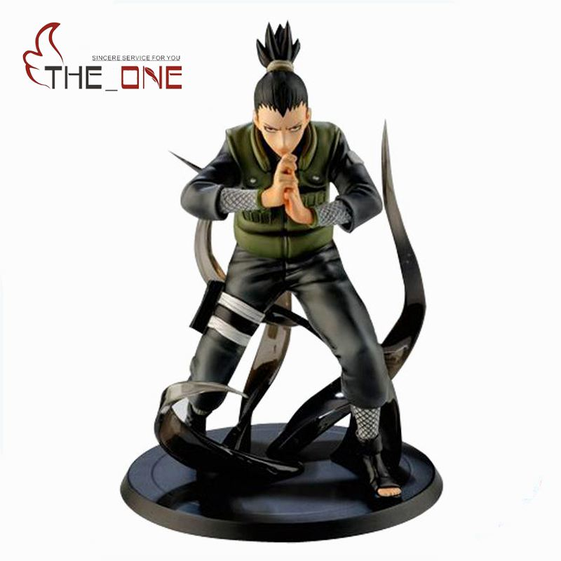 16 cm 6 Cartoon Kakashi Shikamaru PVC Anime Action Figure Toys Kids Adult For Decoration Collection Model Gift  P006<br><br>Aliexpress