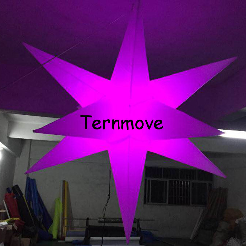 inflatable star with LED light5