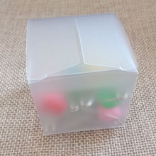 20pcs Plastic Frosted PVC Box Waterproof Gift Boxes PVC Packaging Box For jewelry/Candy/toys Wedding Party supplies(China)
