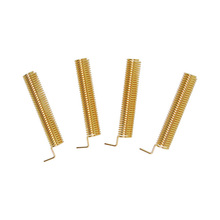 10pcs Wholesale Antenna SW315-TH23 Golden Color 315MHz Antenna Spring Antenna   2.15dBi
