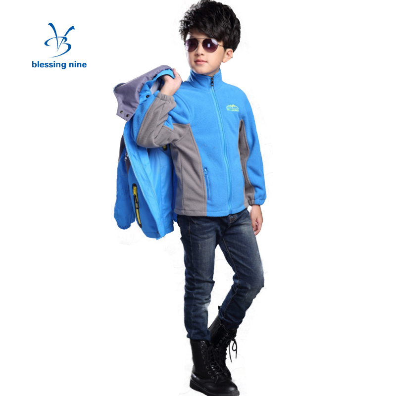 Kids Boys Winter Coats 10 12 14 Years Teenage Jacket Children Clothing 2Pcs Hooded Outerwear Thicken Warm Windbreaker WaterproofÎäåæäà è àêñåññóàðû<br><br>