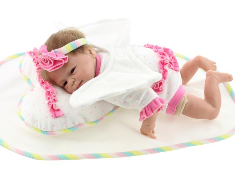 17 inch girl princess gift lifelike silicone reborn baby dolls girls for sale MNJ89<br><br>Aliexpress
