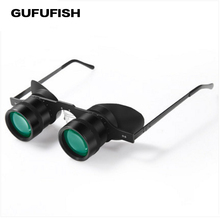 GUGUFISH Portable 10x 34 Glasses Fishing high definition Binoculars  Hiking Concert Football Game Outdoor Spyglass