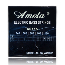 Amola AS115 Electric Bass Strings 5 Steel Stings 045 065 080 100 130