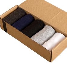 10 Pairs/ Lot Fashion New Mens Socks Super Good Quality Cotton Casual Breathable Business Classical 5 Solid Colors Sock For Male(China)