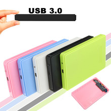 "Multi Color 2.5""inch USB 3.0 to SATA HDD Hard Drive External Enclosure Case 2TB Mobile HDD Enclosure Case HDD Box"