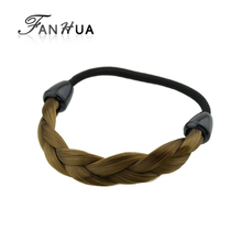 FANHUA 1 PC New Arrival Fashion Plaits Hair Accessories For Women Elascity Hair Accrssories(China)