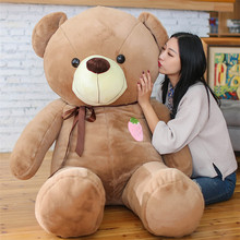 2017 Low Price Stuffed Animals Bear Plush Toys Large Teddy Bear Big Bear Doll /Lovers Birthday Baby Gift 120cm/140cm(China)