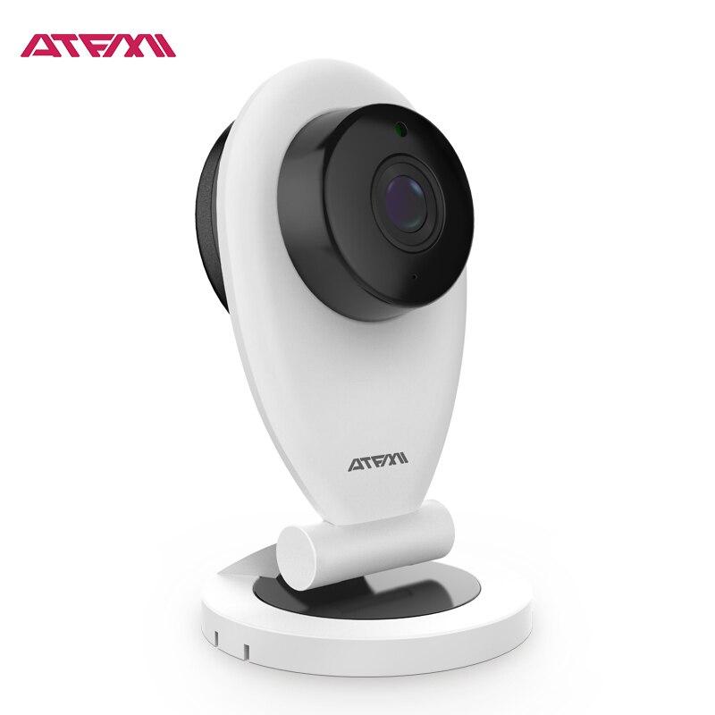 ATFMI K1 HD 720P Mini Wifi IP Camera Wireless P2P Baby Monitor Network CCTV Security Camera Home Mobile Remote CMOS Detector<br>