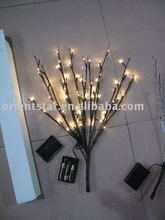 "Free Shipping LED Battery Branch Light 20"" 60LED Christmas branch light wedding table decoration branch twig light"
