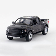 F-150 F-Series Pickup trucks Black 1/46 alloy models model car Pickup Diecast Metal Pull Back Car Toy For Gift Collection