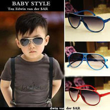 D new retro fashion for boys girls children's sunglasses genuine tide kids baby UV400 r Vintage classic brand sun glasses
