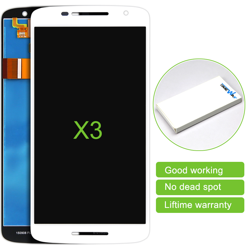 DHL 30pcs 100% Test 5.5 LCD Screen Display For Motorola For MOTO X Play X3 XT1562 with Touch Screen replacement<br><br>Aliexpress