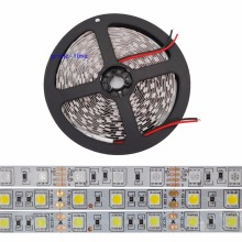 5m 5050 SMD LED strip 60Led/m, 12V LED tape, white/warm white/blue/green/red/yellow/RGB, Non-waterproof Free Shipping