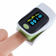 Green SpO2 Fingertip Pulse Instant Read Digital Oximeter Blood Oxygen Sensor Saturation Monitor Meter OLED Display(China)