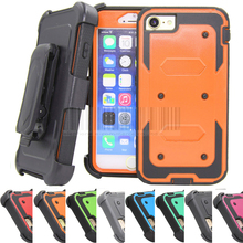 Buy Heavy Duty Hybrid Hard Armor Case Kickstand Belt Clip Holster Case Shockproof Hard Phone Cover Apple iPhone 8 / 8 Plus for $4.74 in AliExpress store