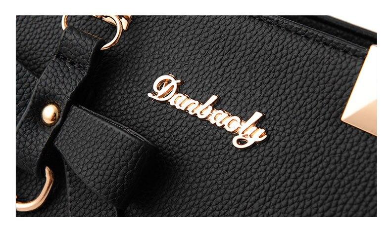 WENYUJH New 18 Elegant Shoulder Bag Women Designer Luxury Handbags Women Bags Plum Bow Sweet Messenger Crossbody Bag for Women 10