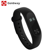 In Stock Original Xiaomi Miband 2 Mi Band 2 Fitness Tracker Heart Rate Monitor Bluetooth 4.0 OLED Display Touchpad For Android(Hong Kong)
