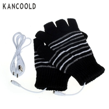 Garment New 2016 Design 5V USB Powered Heating Heated Winter Hand Warmer Gloves Washable  JL11