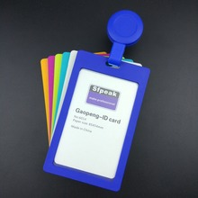 Cover card,ID Holder,Work card,vertical Retractable Badge badge identification tag, colour staff  badge Student transit Gifts