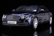Diecast Car Model Bentley Flying Spur W12 Peacock (Blue) 1:18 + SMALL GIFT!!!!!!!!!!!