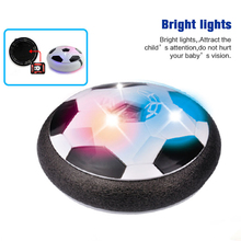 Electric Suspension Football soccer ball With Colorful Light Air Soft Leisure Sport Toys Educational Toy For Children Gift(China)