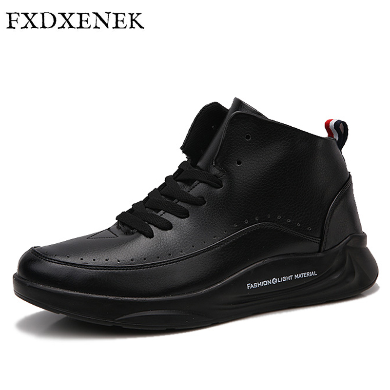 ZENVBNV Brand Men Shoes High Quality Leather Casual Shoes Mens Sneakers Waterproof Male Footwear Mens Flats Shoes Size 39-44<br>