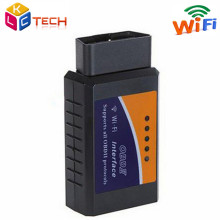 10pcs/lot OBD2 Diagnostic ELM327 WIFI V1.5 Connection OBD2 Auto Code Reader WI-FI Connection ELM 327 Supports iOS Phone