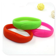 Wrist band six colors bracelet usb flash drive 8GB 16GB 32GB USB Flash 2.0 Memory Drive Stick Pen/Thumb/Car S379