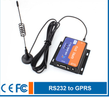 Four Frequency RS232 Serial to GPRS terminal , RS232 to GPRS DTU Server controller,Support Public and APN Network Access
