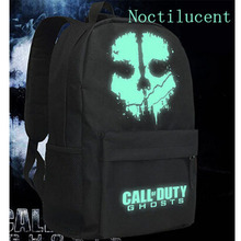 2016 Hot Call Of Duty Ghosts PC Games Mochilas School Bag Kids Teenager Backpack Anime Bag Mochila Infantil Japan Animation W649(China)