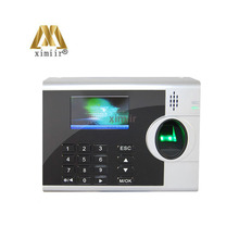 6 function keys time clock XM218 fingerprint recognition device fingerprint time attendance external printer function by RS232(Hong Kong,China)