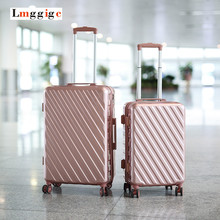 Multiwheel Luggage bag,PC+ABS Hard shell Suitcase ,Zipper Travel box,Nniversal wheel Carry-Ons Carrier(China)