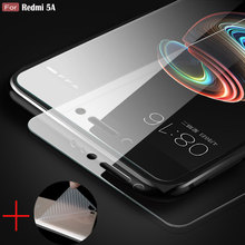 Buy HOTSWEI Tempered Glass Xiaomi Redmi 5A 5 Global Version Transparent Glass Screen Protector +gift Soft Back Protective Film for $1.41 in AliExpress store