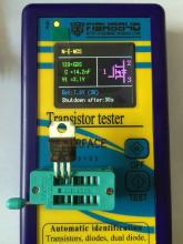 2017 Portable New Component Tester Transistor Diode Capacitance ESR Meter Mosfet NPN MPN Mos Inductance