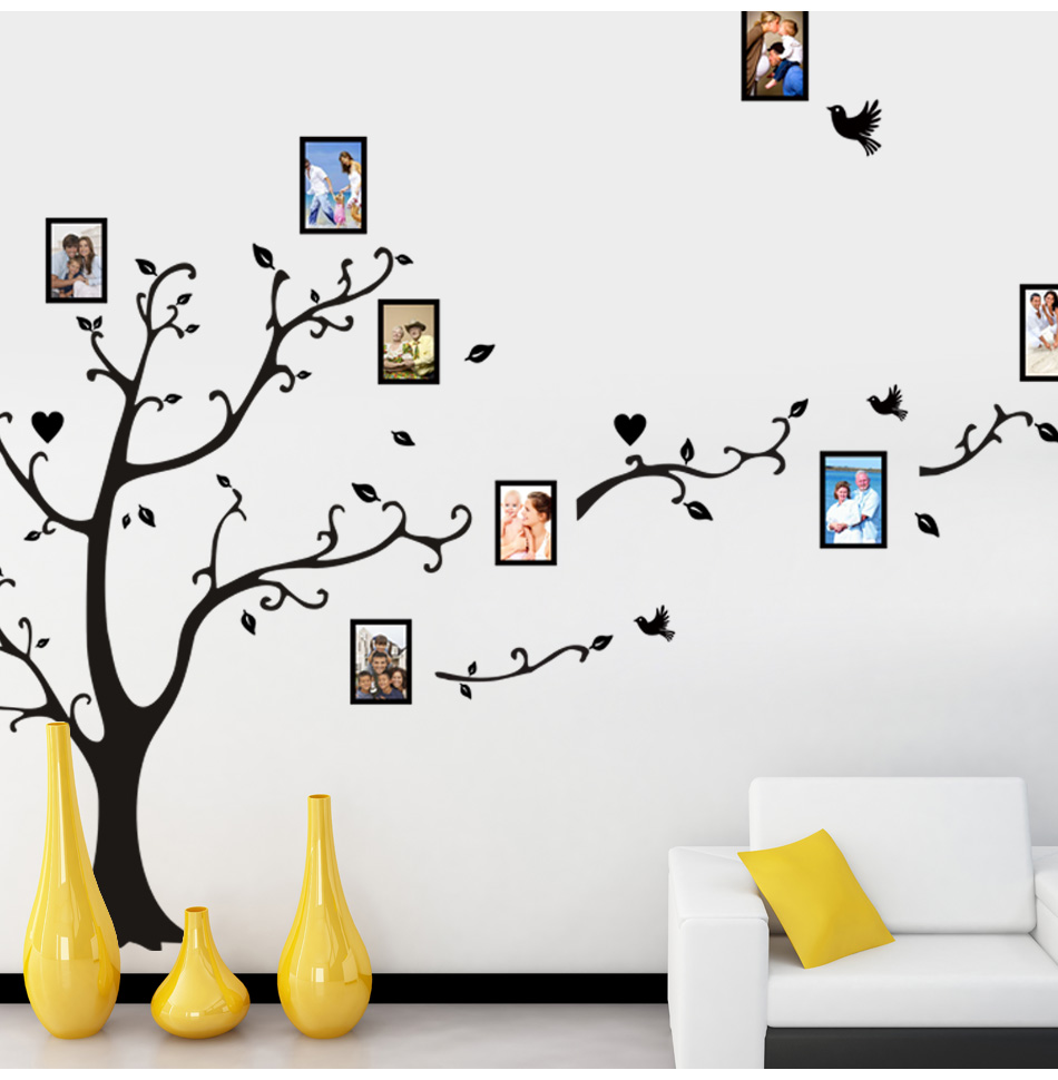 HTB11SK6m3oQMeJjy0Fpq6ATxpXa9 - Large size 200*260cm colorful DIY photo vinyl tree family wall decal for living room