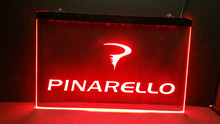 Pinarello Bikes logo 2 size Home Decoration Wall Decor Beer NR Bar Pub Club LED Neon Light Sign(China)