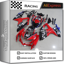 Excellent Painting Job Full Injection K8 GSX-R600 750 ABS Fairing 2008 2009 2010 ABS Bodywork For Suzuki Red&Black