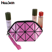 4 Colors Make up Organizer Bag Women Diamond Style Casual Travel Bag Multi Functional Cosmetic Bags Storage Bag