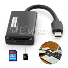 USB 3.1 Type C to Micro SD MMC SDXC TF Card Reader Adapter For Phone -R179 Drop Shipping