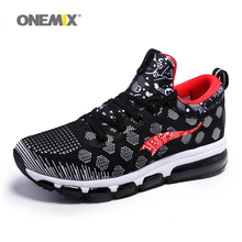 OneMix 2017 New Air Cushion Sneaker Original Zapatos De Hombre Medium upper Athletic Outdoor Sport Shoes Female Running Shoes
