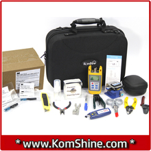 KomShine KFH-13F Fiber Optic Mechanical Splice Tool Kit FTTH Test Tool Kits / Splicer / VFL / OPM / Fiber Cleaver