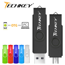 New otg usb flash drive memoria stick cel usb 16GB 32GB 64GB pen drive flash disk Smartphone Tablet PC External Storage pendrive